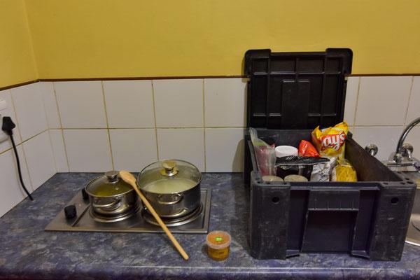 Curry-Erbsen-Reis mit...