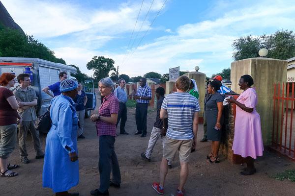 Angekommen in Matibi, Zimbabwe
