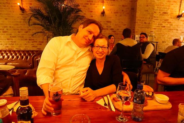 Unsere lieben Airbnb-Vermieter Sibylle und Thomas