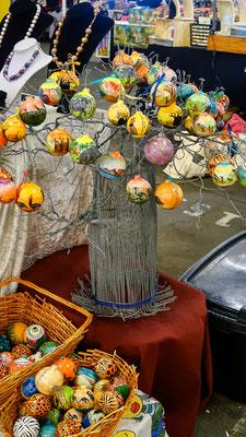 Rosebank Sunday Market Johannesburg - Baobab-Weihnachtsbaum