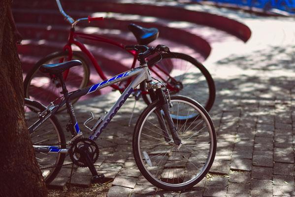 Los gehts unsere Fahrradtour durch den Township Alexandra