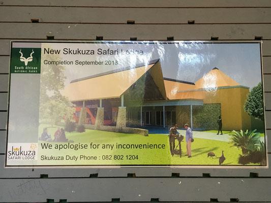 Neue Skukuza Lodge ab September 2018