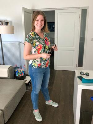 Ani präsentiert die neusten Einkäufe