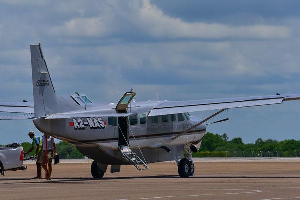 Unser Flugzeug von Wilderness Air