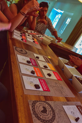 De Villiers Chocolate Tasting beim Spice Route