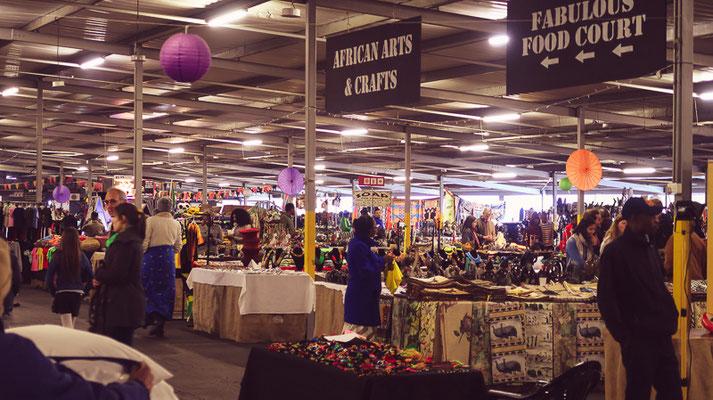Rosebank Sunday Market Johannesburg