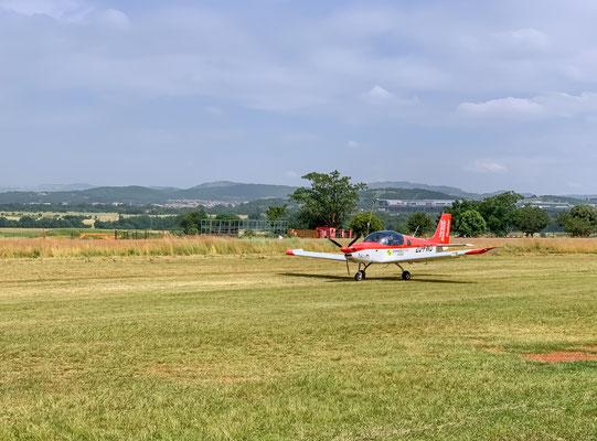 Auf der Piste des Panorama Airfield