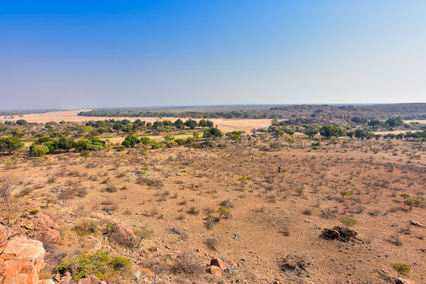 Mapungubwe Nationalpark - Confluence Viewpoint