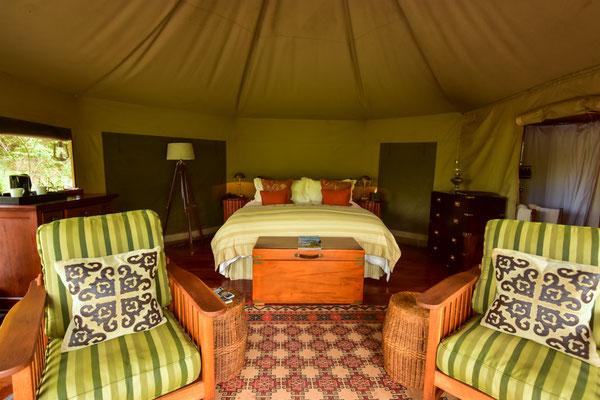 Grosszügige und luxuriös ausgestattete Räume