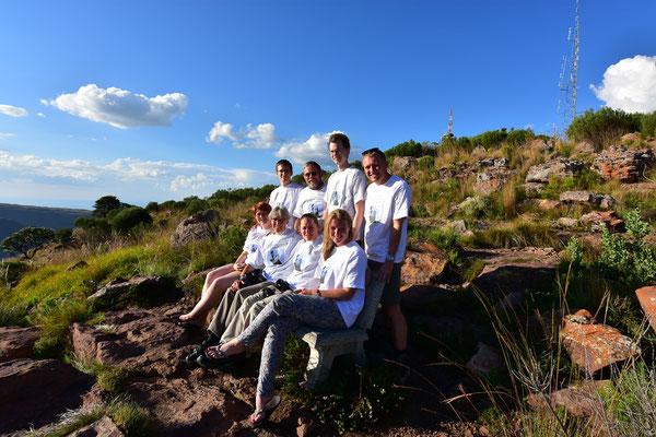 Ein letztes Gruppenfoto