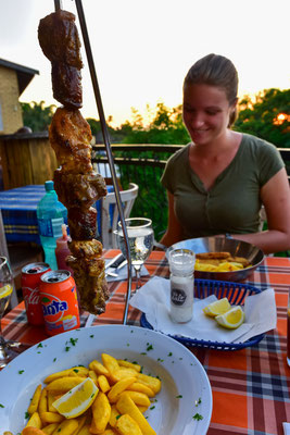 "Abendessen im ""Braza"""
