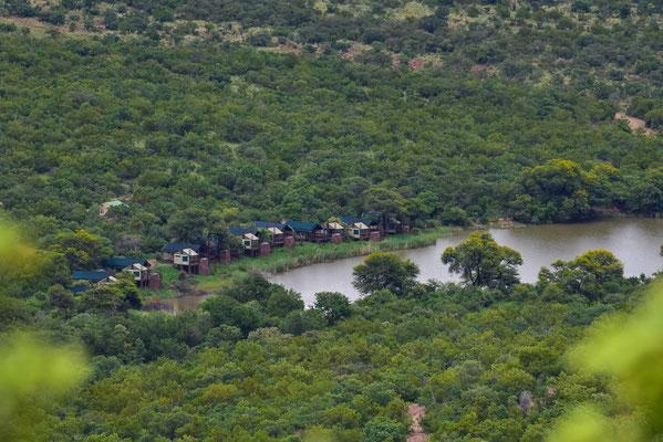 Tlopi Tented Camp von oben