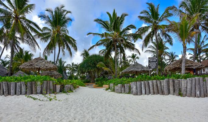 Strandbereich vom Resort