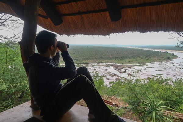 Den Ausblick auf den Olifants River genießen