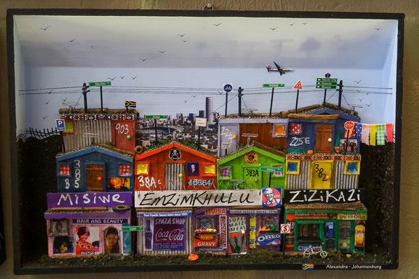 Township Alexandra als Kunst