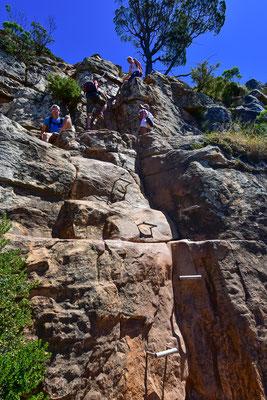 Klettern inklusive
