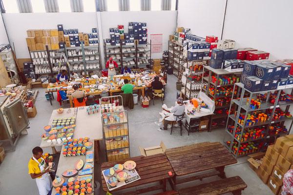 Besuch bei der Keramikwerkstatt Isuna