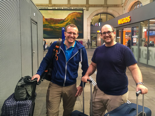 Abfahrt nach Frankfurt