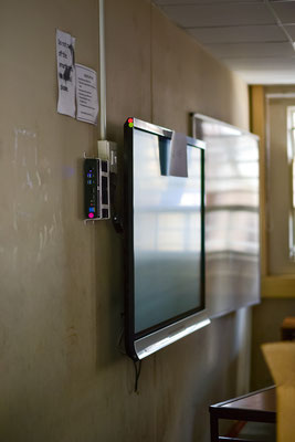 Smartboards in der Schule im Township