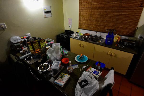 Küchen-Chaos im Addo Restcamp