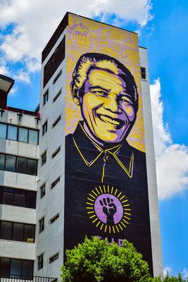 Angekommen in Johannesburg