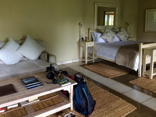 Unser (zweites) Zimmer im Nottens Bush Camp
