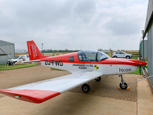 Eines der Schulungsflugzeuge der Johannesburg Flying Academy (Sling 2)