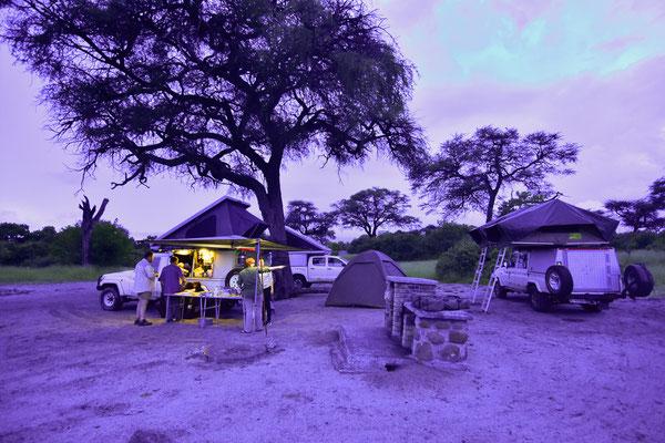 Unser Campsite CV2 in Savuti
