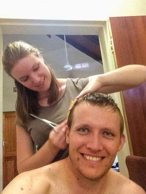 Haare schneiden