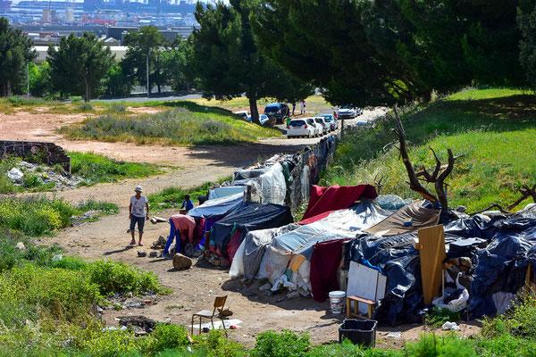 Die Armut ist teilweise deutlich sicht- und spürbar
