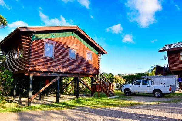 unsere Hütte im Ebb & Flow Restcamp