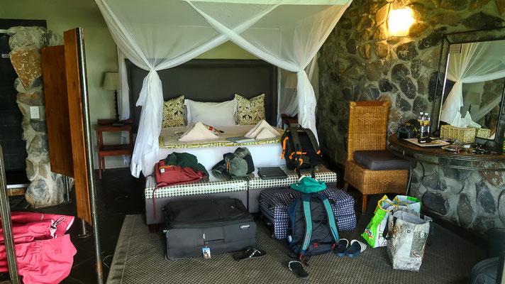 Hütte in der Thamalakane River Lodge