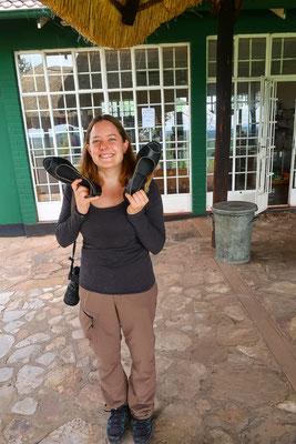 Neue Schuhe made in Zimbabwe
