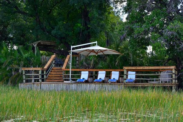 Poolbereich des Pelo Camps
