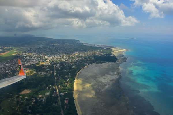 Ein letzter Blick auf Zanzibar