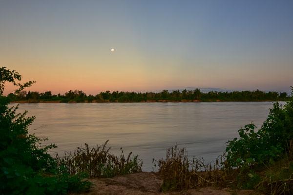 Limpopo mit viel Wasser