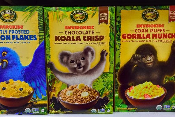 Koala-Crisps...!? Gesehen in einer Drogerie