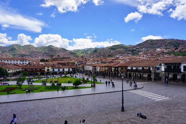 Ein Mehrtagesaufenthalt in der Stadt Cusco bietet sich sehr gut für die Höhenakklimatisation an.