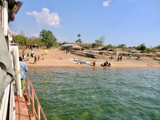 Auf dem Malawisee