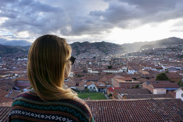 Auch viele Regionen Perus liegen weit über 3000 Metern Höhe, wie z.B. die Stadt Cusco.