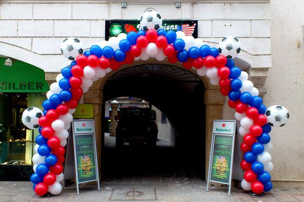 Eröffnung der Championsbar in der Grazer Stempfergasse