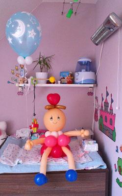 Ein Püppchen namens Polly :-) - Geschenkidee / Glückwunsch zur Geburt eines Babys