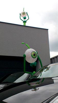 Alien trifft Porsche