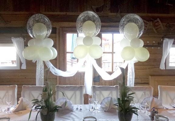Hochzeitsdeko Ballons