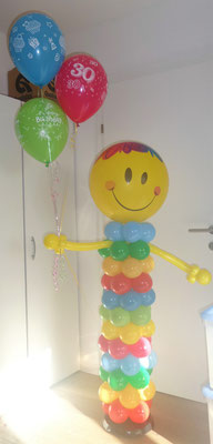 #4 - Smiley mit Heliumballons