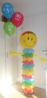 #4 - Smiley mit Heliumballons