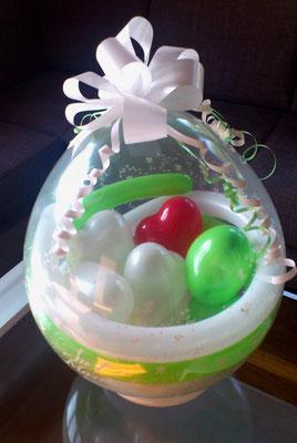 Herziger Stuffed Balloon - Geldgeschenk das für Aufsehen sorgt