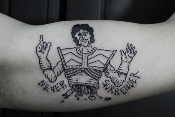 trash soldier tattoo