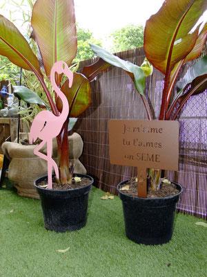 ©Archi'Tendances, Idfer Lady Pink le flamant rose