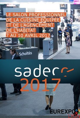 Salon du Sadecc - Eurexpo Lyon - Avril 2017
